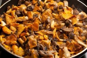 Лазанья с грибами для вегетарианцев 3