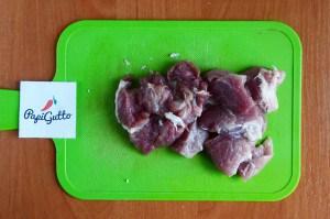 Тушкована капуста з м'ясом та грибами 10