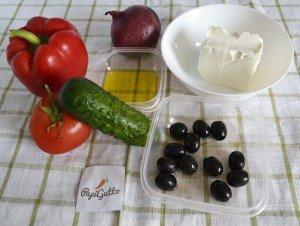 Грецький салат 1