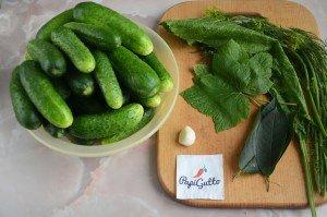 Малосольні огірки 1