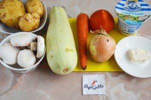 Тушеные овощи в горшочке 1