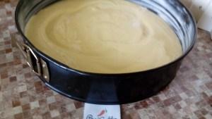 Бисквитный пирог с яблоками 9