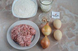 Мясной пирог с фаршем 1