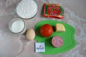 Пицца на сковороде 1