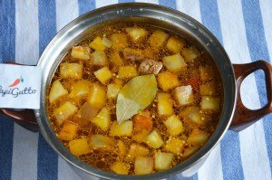 Овощной суп 10