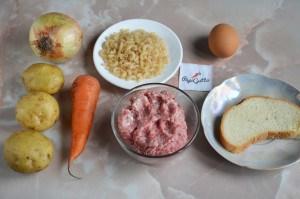 Суп с фрикадельками 1