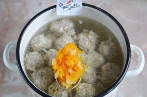 Суп с фрикадельками 10