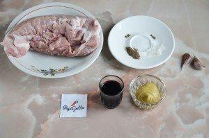 Запеченная свинина в духовке 1