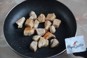 Оджахури (Жареная картошка с мясом) 3