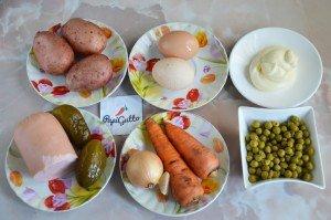 Салат оливье 1