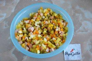 Салат оливье 8