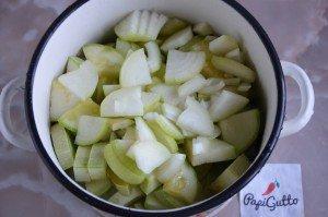 Салат из кабачков на зиму 3
