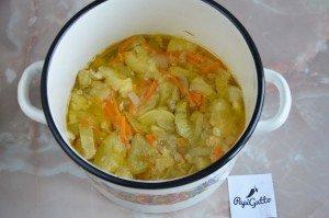Салат из кабачков на зиму 8