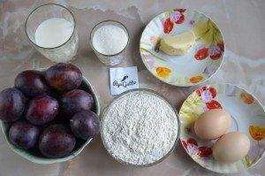 Пирог со сливами 1