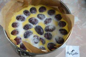 Пирог со сливами 8