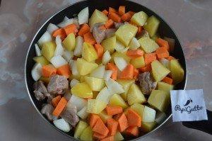 Тушеная картошка с мясом 8