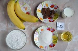 Банановый кекс 1