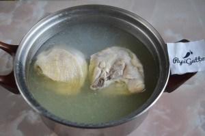 Чихиртма (грузинский куриный суп) 2