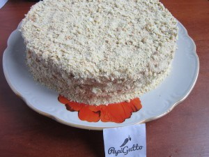 Торт наполеон 22