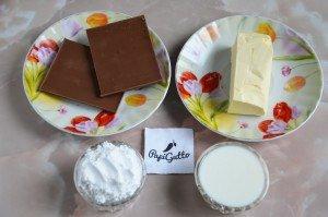 Шоколадний крем для торта 1