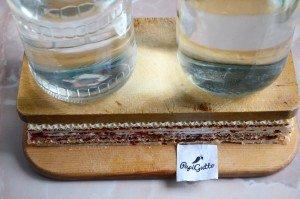 Вафельний торт зі згущеним молоком 5