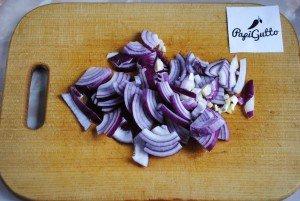 Фасоль с овощами 5