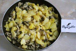 Смажена картопля з грибами 9