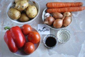 Запеченные овощи 1