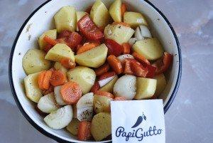 Запеченные овощи 7