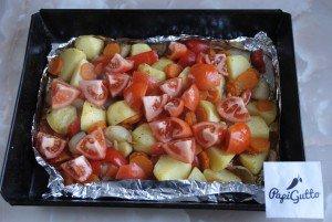 Запеченные овощи 10