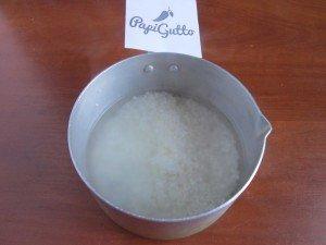Молочная рисовая каша 3