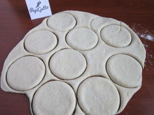 Пирожки с капустой 12