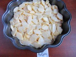 Постный пирог с яблоками 8