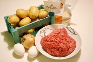Картофельная запеканка с фаршем 1