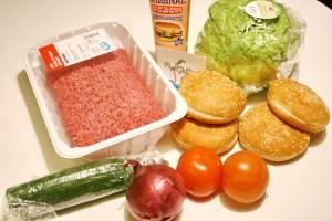 Гамбургер в домашних условиях1 1